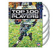 NFL Top 100 Greatest Players 4-Disc Set - E265998
