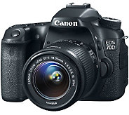Canon EOS 70D DSLR Camera, 18-55mm Lens & HD Video Shooting - E272398