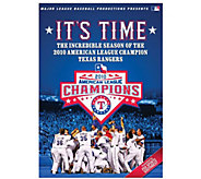 2010 Texas Rangers: Its Time! DVD - E290998