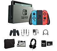Nintendo Switch with Headphones, Travel Tote &Accessories - E291198
