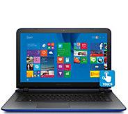 HP Pavilion 17 Touch Laptop Quad Core 8GB RAM 1TB HDD & Lifetime Tech - E227599