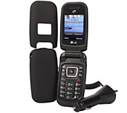 TracFone LG441G Flip Phone with 120 Minutes, Text, Data and Accessories - E229399