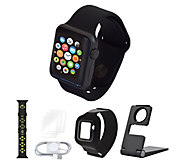 Apple Watch Series 1 38mm w/ Extra Sport Band, Armband and Accessories - E231899