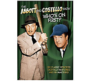Abbott and Costello Show: Whos On First? 1952DVD - E263799