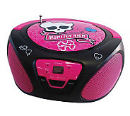 Monster High CD Boom Box - E268199