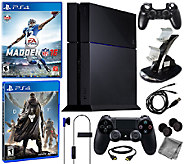 Sony PS4 500GB Bundle with Madden 16, Destiny &Accessories - E284899