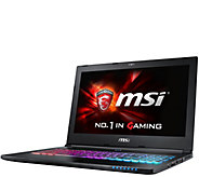 MSI GS60 15 Gaming Laptop- i7, 16GB RAM, GTX 970M, Software - E288599