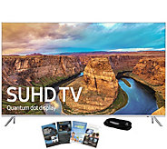 Samsung 49 Class LED Smart SUHD TV with App Pack & HDMI Cabl - E289199