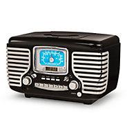 Crosley Radio Black Corsair CD Player with Bluetooth - E293199