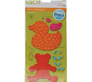 GO! Fabric Cutting Dies - 2 Styles - F195900