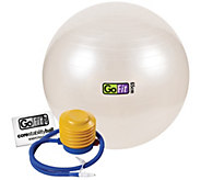 GoFit GF-65BALL 65cm Exercise Ball with Pump - F195502