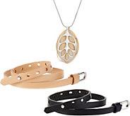 Bellabeat LEAF Silver Smart Jewelry Health Tracker - F12403
