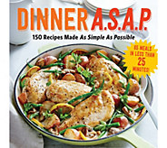 Dinner A.S.A.P. Cookbook by the Editors of Cooking Light - F12204