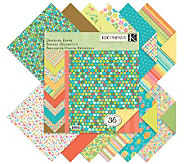 Designer Double-Sided Paper Pad 12 x 12 -Summer Travel - F247304