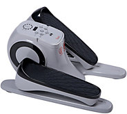 Sunny Health & Fitness Motorized Under Desk Elliptical - F249805