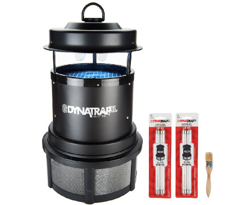 Dynatrap 1 acre coverage insect trap w 2 extra bulbs for Dynatrap insect trap