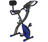 FITNATION Recumbent & Upright Flex Bike w/ Echelon Experience App - F13306