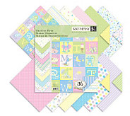 Designer Double-Sided Paper Pad 12 x 12 -Snuggle Bug - F247306