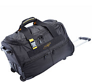 A.Saks Lightweight Expandable 20-inch Carry-OnRolling Upright - F249106