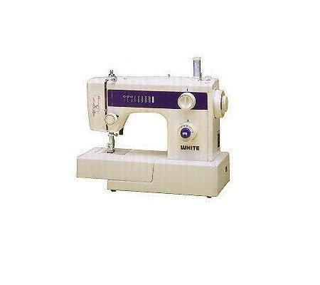 White Heavy Duty 18 Stitch Sewing Machine F164107 Qvc Com