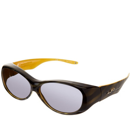 Jonathan Paul Eyewear Tiger Stripe Fitovers With Polarvue