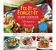 Fix-It and Forget-It Slow Cooker Champion Recipes - F12308