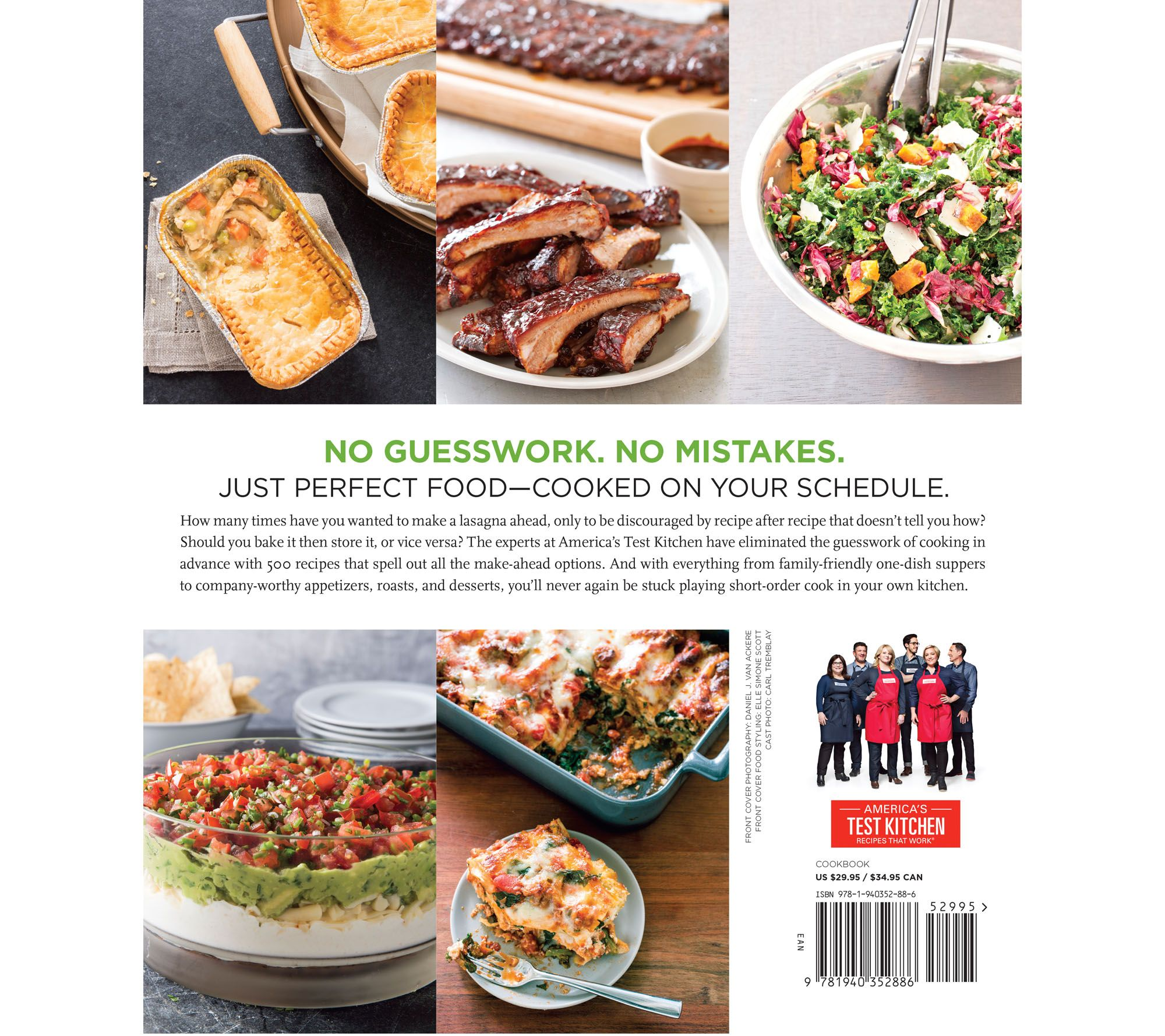The Complete Make-Ahead Cookbook\