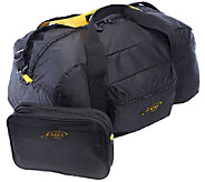 A.Saks 22-inch Lightweight Carry-on Parachute Nylon Duffel Ba - F249108