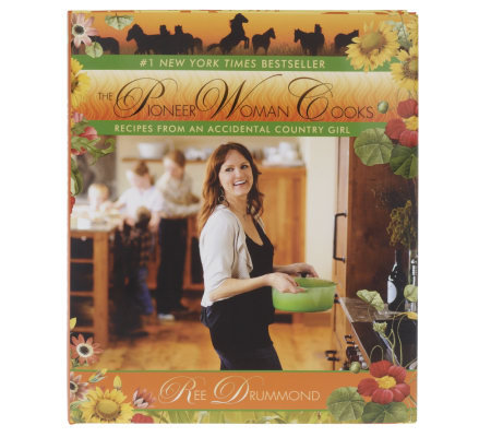 """The Pioneer Woman Cooks"" Cookbook by Ree Drummond"