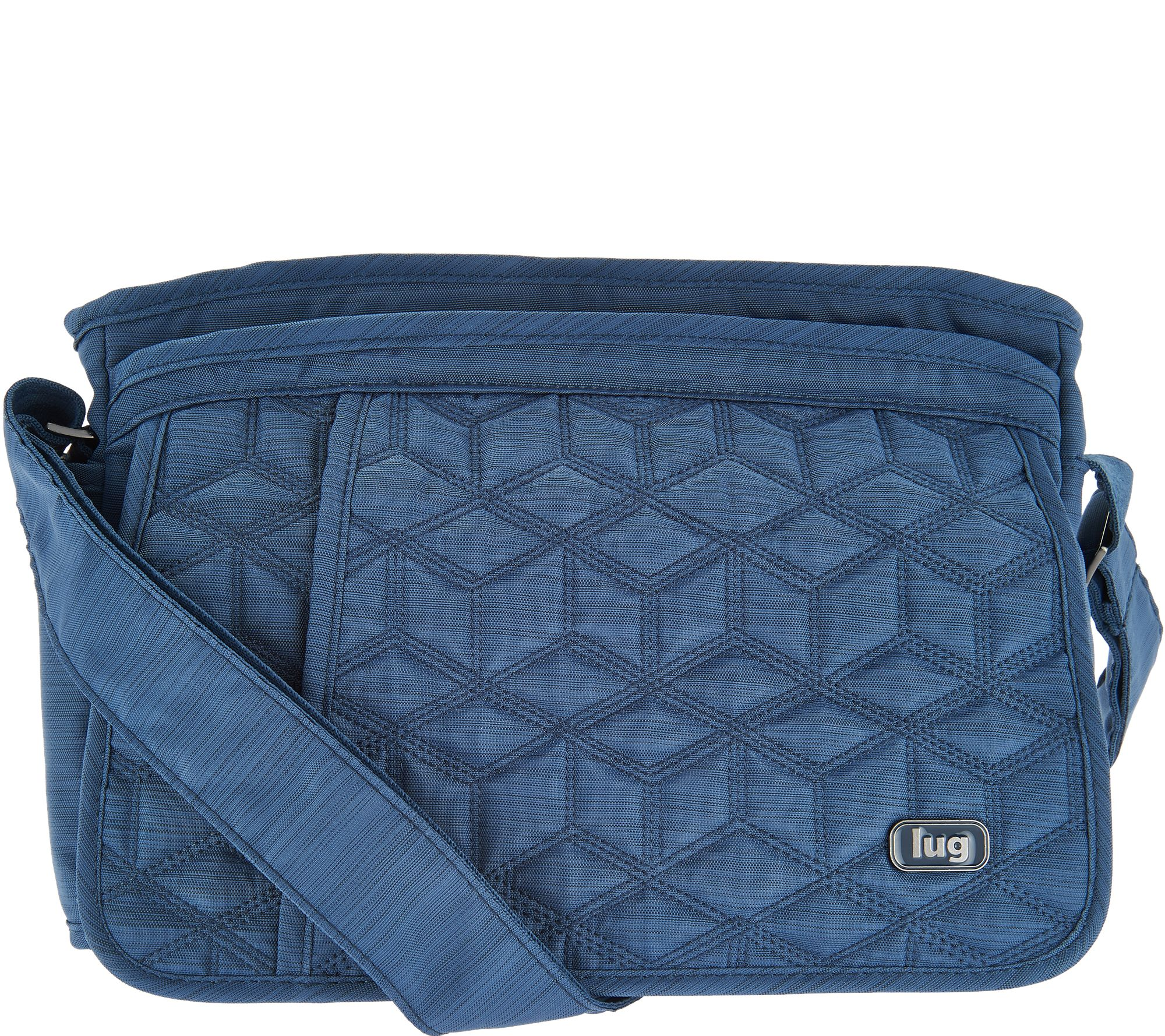 Lug Quilted Flap Crossbody Bag - Wings - Page 1 — QVC.com