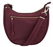 Travelon Anti-Theft Hobo Crossbody Handbag with RFID - F12809