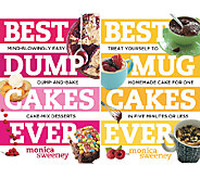 Best Dump and Mug Cakes Ever 2-Set Cookbook by Monica Sweeney - F11811