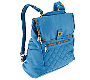 Travelon Foldover Quilted RFID Convertible Backpack - F11911