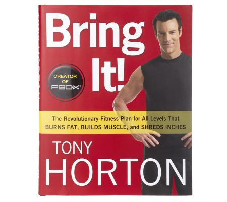 Bring It By Tony Horton Autographed Book — QVC