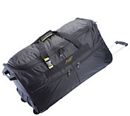 A.Saks 31 Expandable Rolling Upright Duffel Bag - F249112