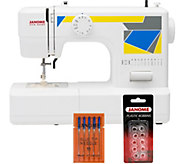 Janome MOD-11 Easy-to-Use Sewing Machine with Bundle - F249712