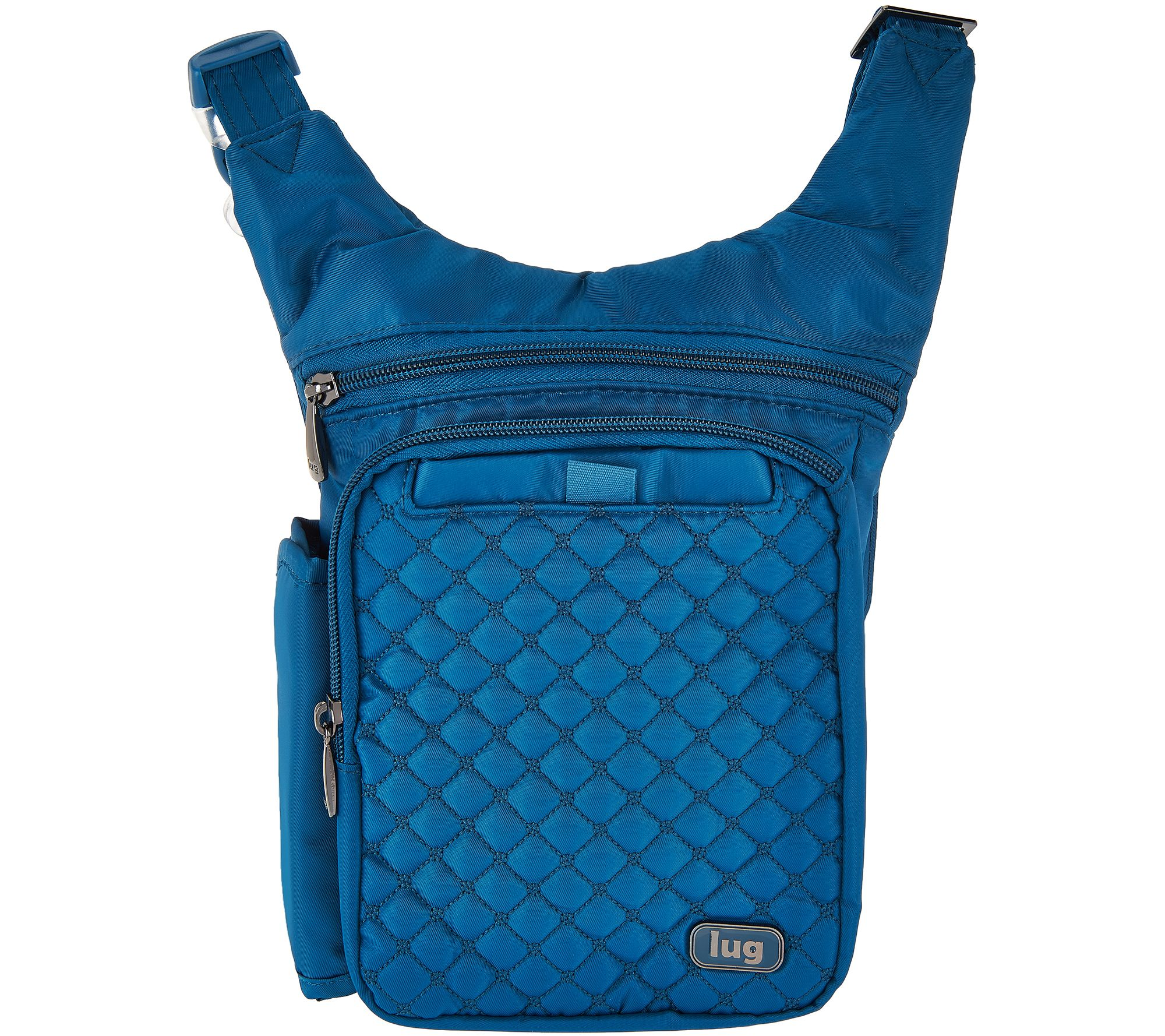 Lug Quilted RFID Crossbody & Waist Pack - Hopper