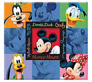Disney Embossed Scrapbook 12 x 12 - Mickey &Friends - F167315
