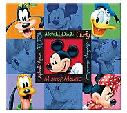 Disney Embossed Scrapbook 12 x 12 - Mickey &Friends - F167315