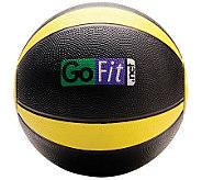 Gofit 10-lb Medicine Ball & Core Training DVD - F195416