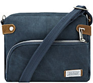 Travelon Anti-Theft Heritage Canvas RFID Crossbody Bag - F12317