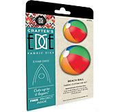 Crafters Edge Beach Ball Fabric Cutting Dies - F250317