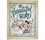 Beautiful Word NIV Coloring Bible - F12518