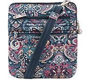 Travelon Anti-Theft Cotton Boho Slim Bag - F12718