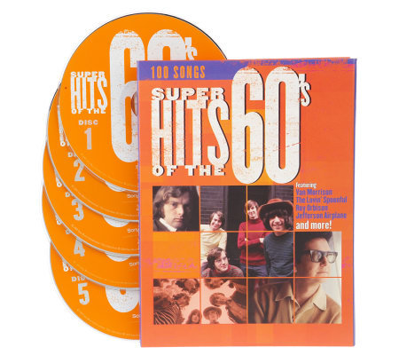 Super Hits of the 60's 100 Songs 5 CD Set