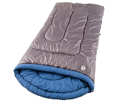 Coleman White Water Contoured Flannel Lined Sleeping Bag