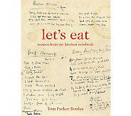 Lets Eat Cookbook by Tom Parker Bowles - F09921