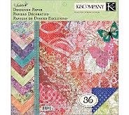 Designer Paper Pad 12x12 - F245021