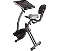 Wirk Ride Exercise Bike Workstation and Standing Desk - F249322