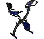 FITNATION Recumbent & Upright Flex Bike Ultra with DVD & Bands - F12824